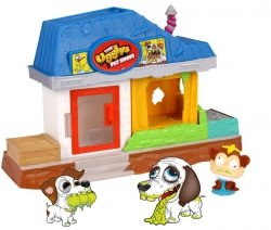 Ugglys PET SHOP Paskudniaki + 5 FIGUREK DOMEK Tm Toys