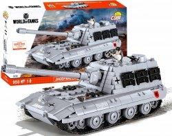 Czołg Niemiecki JAGDPANZER E 100 WORLD of TANK 3036 Cobi