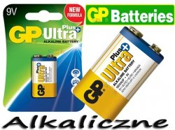 GP ULTRA PLUS Bateria Alkaliczna LR61 9V