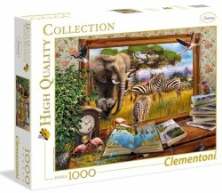 Puzzle 1000 el. ŻYWY OBRAZ Come to Life Clementoni