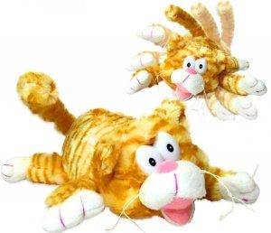 ŚMIESZNY Kotek TURLA SIĘ ŚMIEJE Interaktywny PLUSZOWY