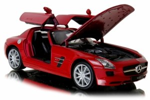MERCEDES Benz SLS AMG METALOWY MODEL Auto Welly 1:24