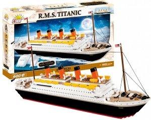 Klocki R.M.S. TITANIC 1914A Statek 600 elem COBI Edycja Limitowana