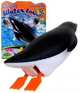 PŁYWAJĄCY PINGWINEK Zabawka do Kąpieli WODY