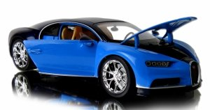 METALOWY MODEL Bugatti Chiron AUTO Welly 1:24