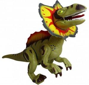 DUŻY DINOZAUR T-Rex Chodzi RYCZY ŚWIECI