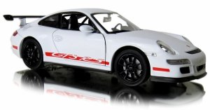 PORSCHE 911 GT3 RS Auto METALOWY MODEL Welly 1:24