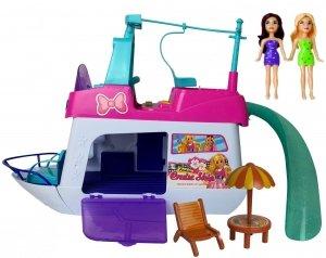 Statek JACHT dla Lalek Barbie LALKI UBRANKA Akcesoria