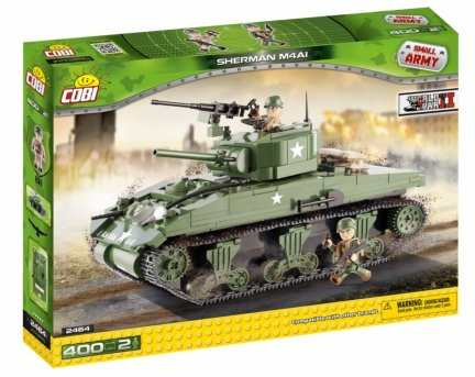 Czołg Sherman M4A1 Small Army 2464 COBI