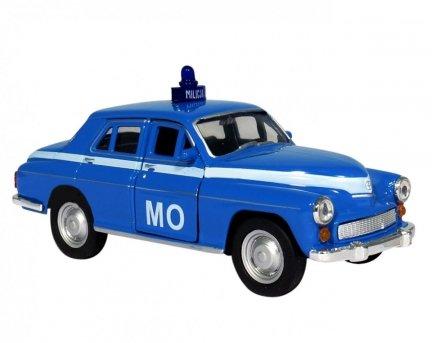 Warszawa MO Samochód MILICJA 1:34 AUTO PRL Welly