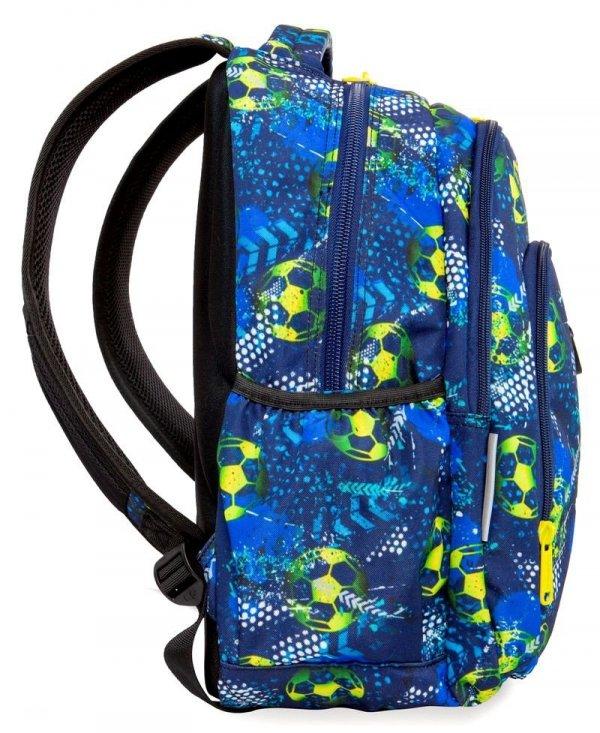 CoolPack PLECAK STRIKE L Football blue B18037 Saszetka 2w1