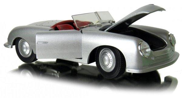 PORSCHE 356 nr 1.ROADSTER Auto METAL MODEL Welly 1:24