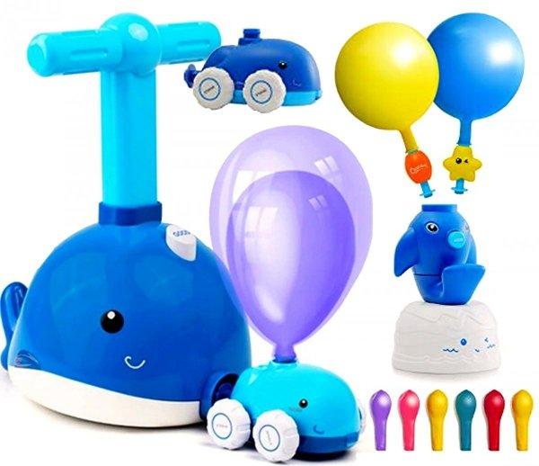 DELFIN Wyrzutnia Balonów AERODYNAMICZNE Autko