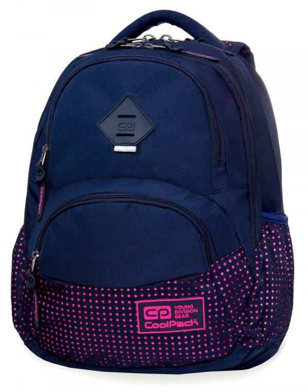 Coolpack PLECAK DART II Dots Pink Navy B30061 27L 2w1