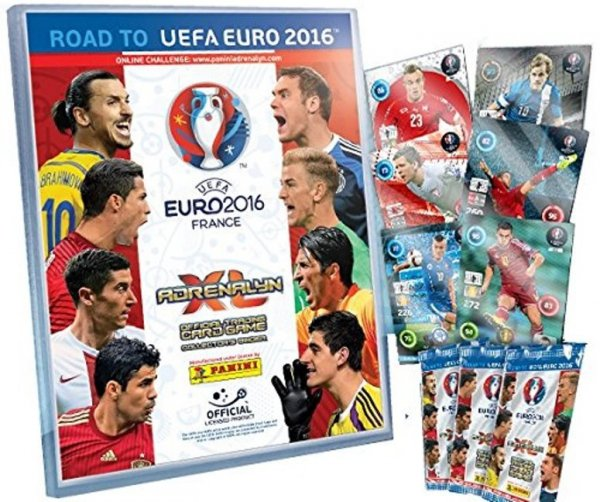 STARTER Karty UEFA ROAD TO Euro 2016 Adrenalyn XL