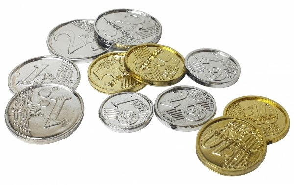 EURO Pieniądze do Zabawy BILON Banknoty