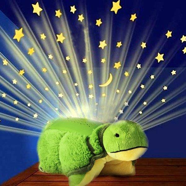 PROJEKTOR Pluszak ŻÓŁW Dream Lites Świeci Poduszka