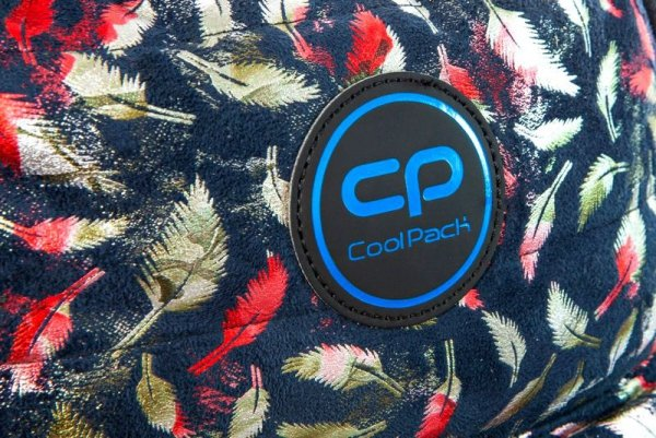 Coolpack Plecak RUBY Glam Feathers Blue 22752