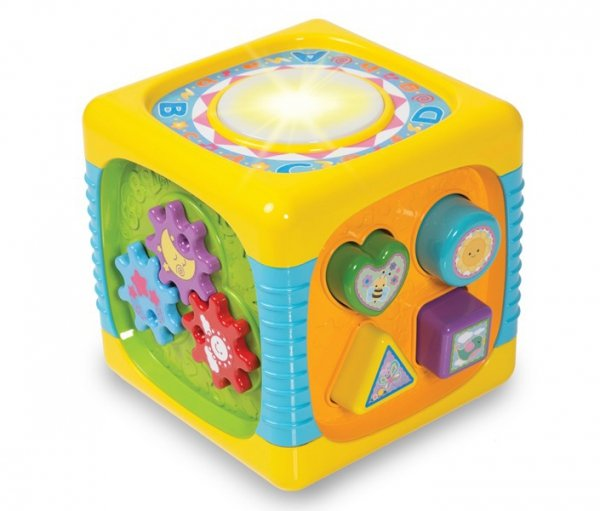 KOSTKA Centrum ZABAWY Sorter Smily Play 0741
