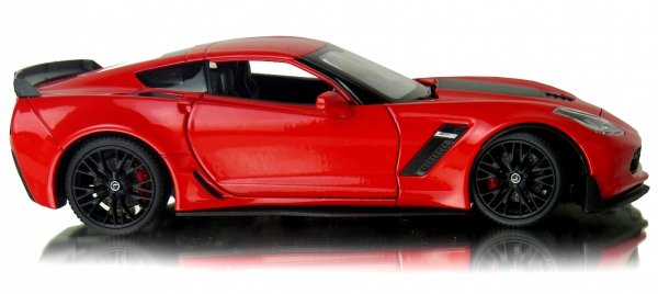 2017 CHEVROLET CORVETTE Z06 Auto Metal Welly 1:24