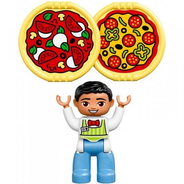 Klocki LEGO DUPLO 10834  PIZZERIA Restauracja Figurki