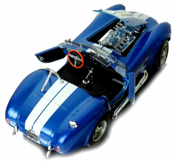 1965 SHELBY COBRA 427 S/C Auto Metal Welly 1:24