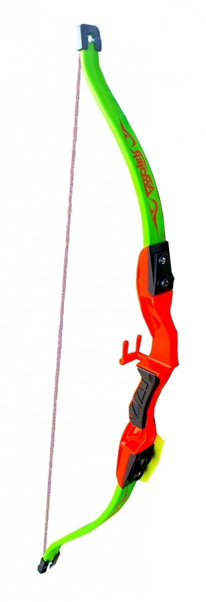 ŁUK 60 cm dla DZIECI Bezpieczny Zestaw STRZAŁY