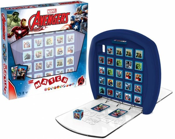 MATCH AVENGERS Gra Logiczna TOP TRUMPS Winning Moves