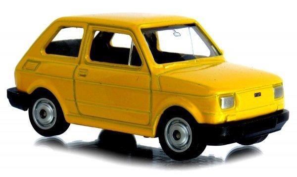 MALUCH Fiat 126p AUTO PRL Welly 1:60 METALOWY Model