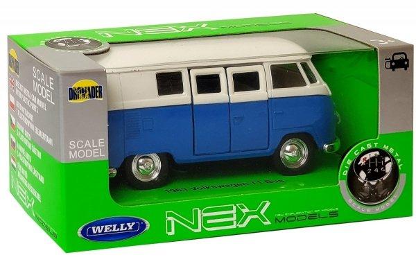 Auto VOLKSWAGEN Bus T1 1963 METALOWY MODEL Welly