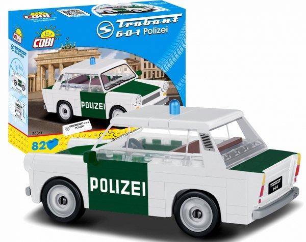 Klocki TRABANT 601 Policja Cobi PRL 24541