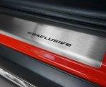 VW POLO IV 5D HATCHBACK 2001-2009 Nakładki progowe STANDARD mat 4szt