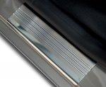 VW TOURAN I FL 2007-2010 Nakładki progowe - stal + poliuretan [ 8szt ]