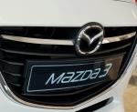 Mazda 3 III BM od 2013 Nakładki na grill stal połysk