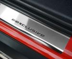 RENAULT CLIO IV 5D HB / KOMBI  od 2012 Nakładki progowe STANDARD połysk 4szt