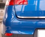 NISSAN MICRA IV 5D HATCHBACK od 2010 Listwa na klapę bagażnika (matowa)