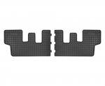 Dywaniki gumowe czarne CITROEN C4 Picasso II 3-rząd od 2013