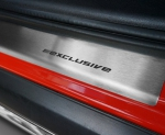 BMW X3 II F25 od 2010 Nakładki progowe STANDARD mat 4szt