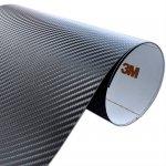 Folia Carbon Czarny 3M CA421 122x120cm