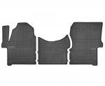 Dywaniki gumowe czarne MERCEDES Sprinter od 2006 | VW Crafter od 2006