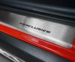 VW UP 5D HATCHBACK od 2012 Nakładki progowe STANDARD mat 4szt