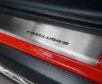 MERCEDES A W169 5D HATCHBACK 2004-2012 Nakładki progowe STANDARD mat 2szt