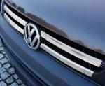 VW T5 FL 2009-2015 Nakładki na grill stal połysk