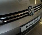 VW GOLF VII od 2012 Nakładki na grill stal połysk