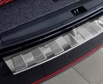 BMW X1 2009-2013 Nakładka na zderzak TRAPEZ Satin