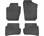 Dywaniki gumowe czarne SEAT Ibiza od 2008 | SKODA Fabia III od 2014