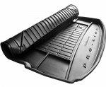 Mata bagażnika gumowa CITROEN DS7 Crossback od 2017 dolna podłoga bagażnika, z wnękami bocznymi