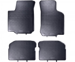 Dywaniki gumowe SEAT Leon I 1999-2005   Toledo 1999-2004   SKODA Octavia I 1997-2010   VW BORA GOLF IV 1997-2006   New Beetle 1998-2010