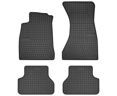 Dywaniki gumowe czarne AUDI A4 B9 od 2015