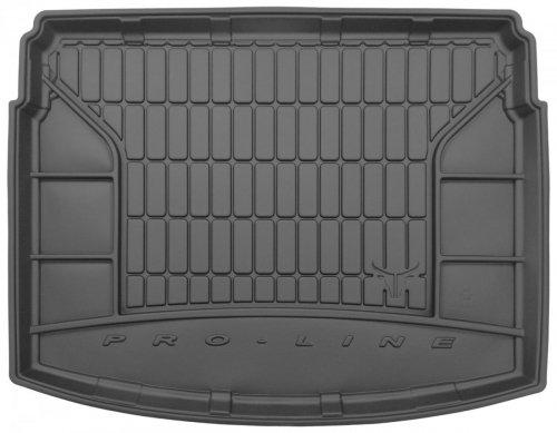 Mata bagażnika gumowa TOYOTA Auris II Hatchback 2012-2018 górna podłoga bagażnika, bez wnęk bocznych